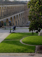 Seventeenth century aqueduct, Montpellier, France