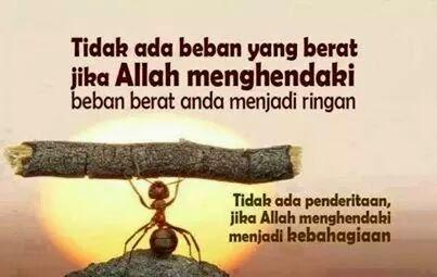 Wordless Wednesday Janji Allah Itu Pasti