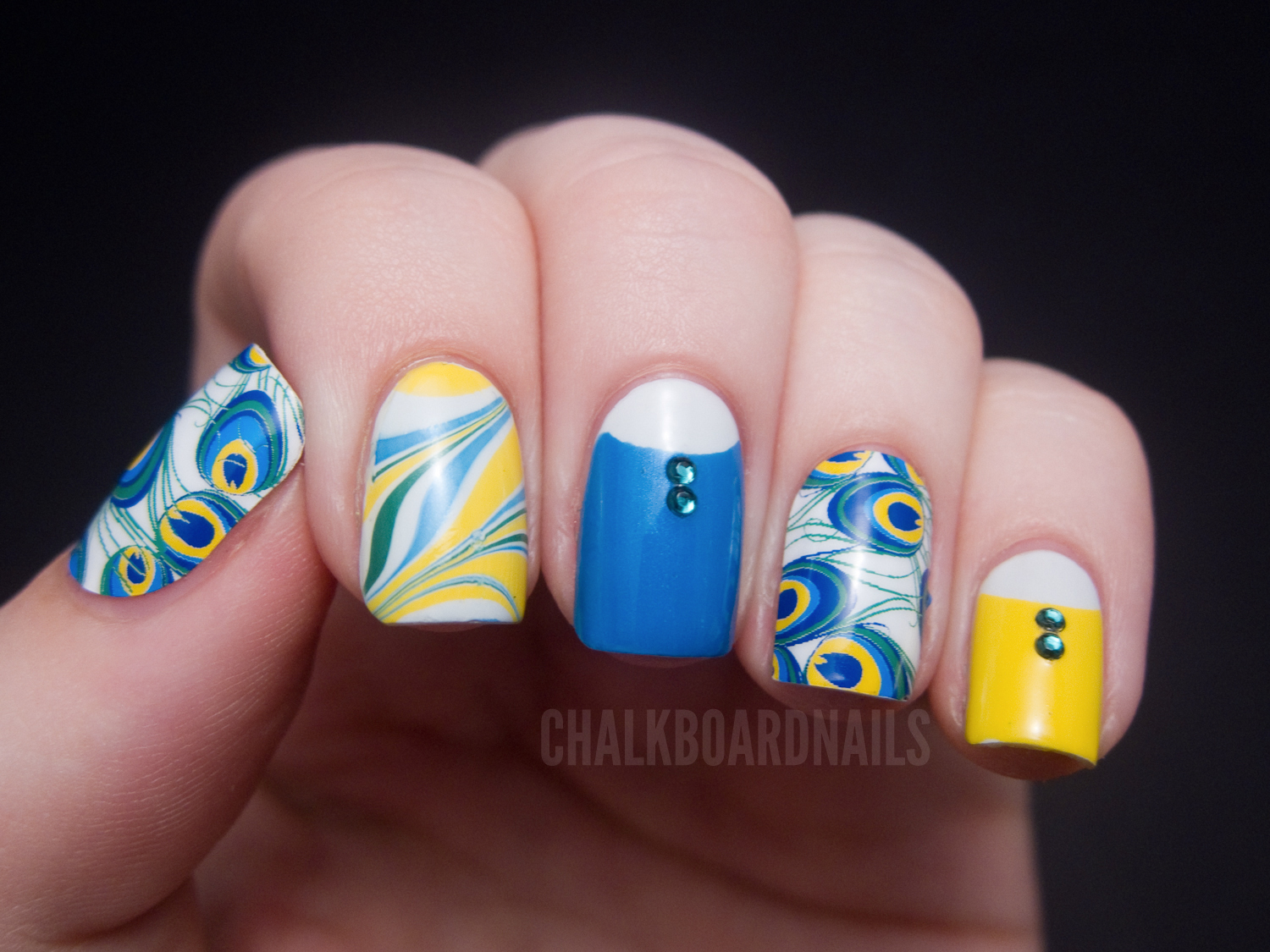 Make the most of your nail wraps: Peacocking with Jamberry Nail ...