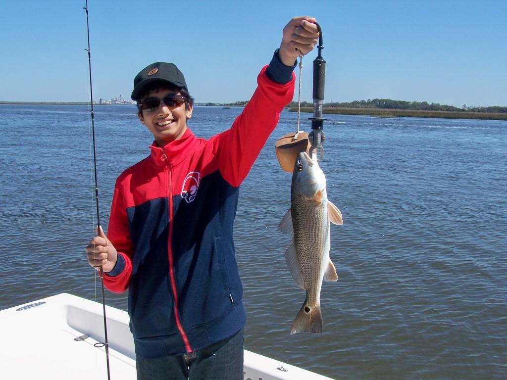 Amelia island fishing reports first fish redfish for Amelia island fishing report