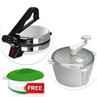 Buy Kitchen Pro Electric Roti Maker Atta Maker at Rs 699 Via ask me bazaar:buytoearn