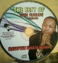 GET YOU COPY OF THIS DVD (JIPATIE NAKALA YA DVD YA MWALIMU JOHN SHABANI)