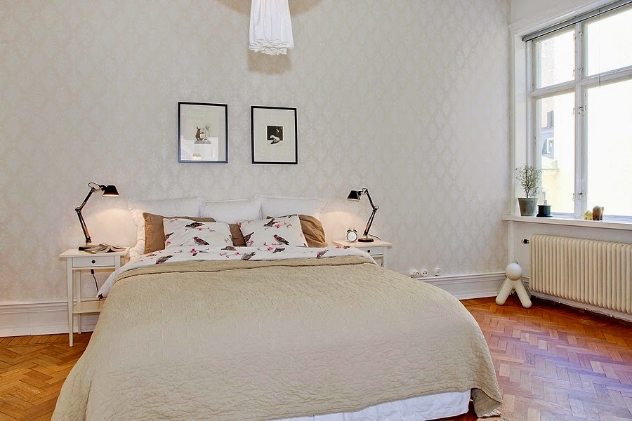 wystrój wnętrz, wnętrza, urządzanie mieszkania, dom, home decor, dekoracje, aranżacje, białe wnętrza, styl skandynawski, sypialnia