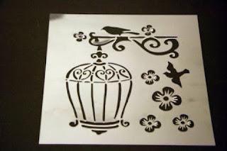 Arte de estarcir: plantillas decorativas  o stancils