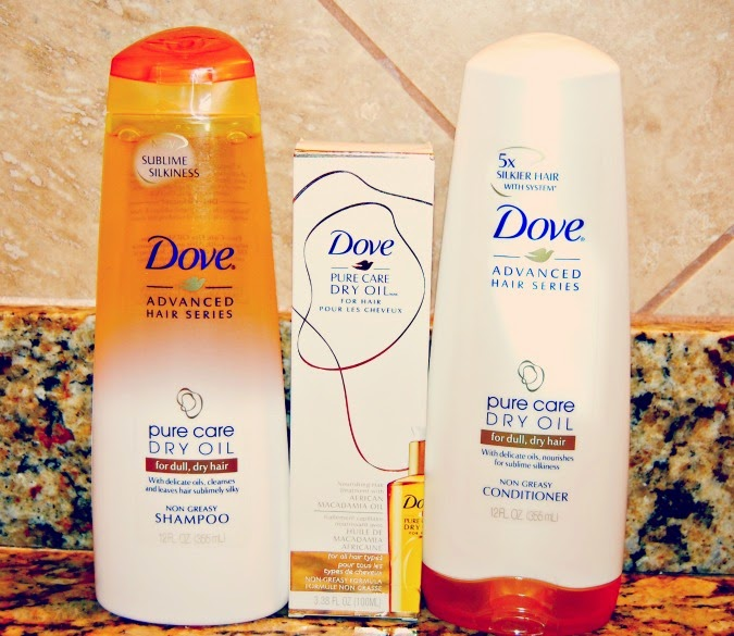 Dove Advanced Hair Series Pure Care Dry Oil system