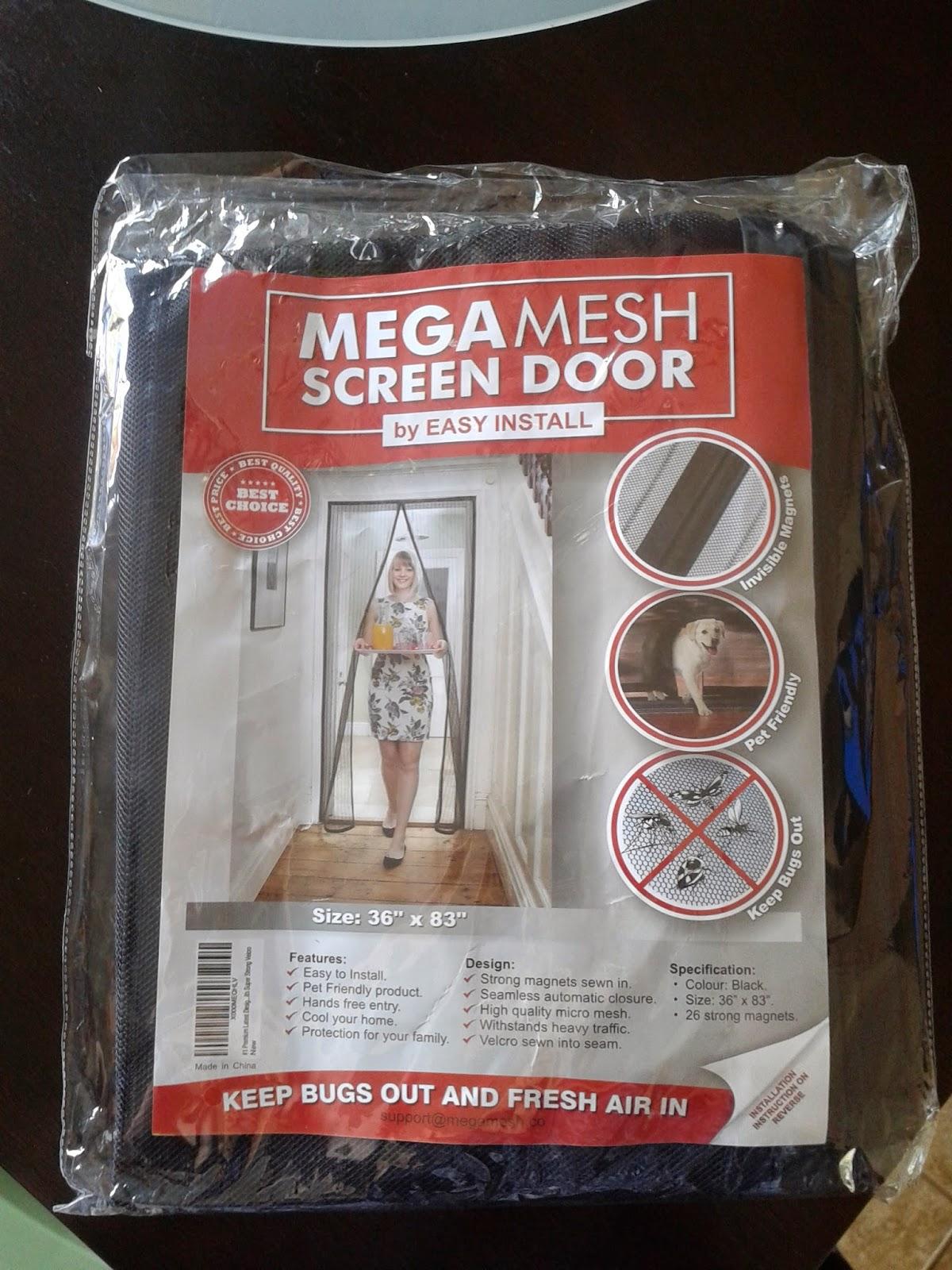 Ginny Says So Mega Mesh Premium Magnetic Screen Door Review