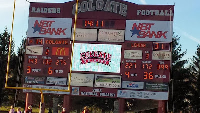 Lehigh Avenges Last Year's Loss to Colgate in Spectacular Fashion, 31-14