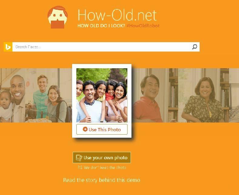الحصول على عمر اى شخص من صورته من ميكروسوفت