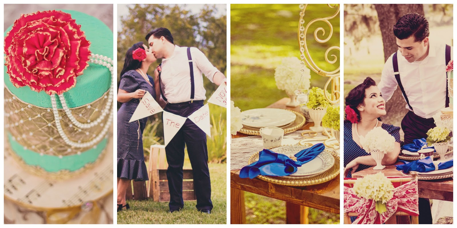 vintage inspired engagement shoot, 1940's wedding inspiration, styled engagement shoot