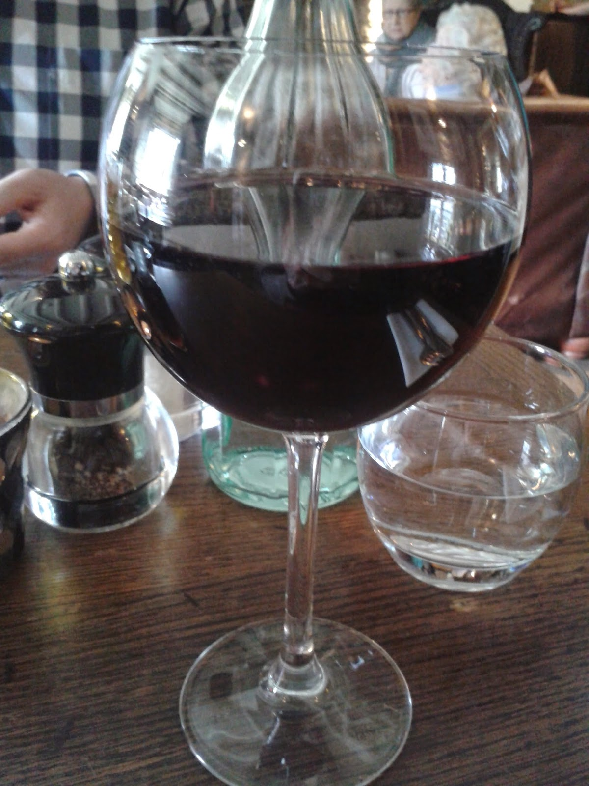Large glass of Malbec wine - alcohol safety - motherdistracted.co.uk