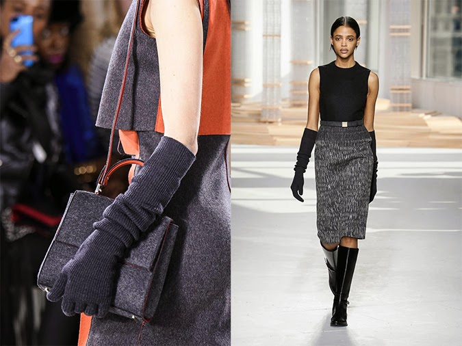 Guantes largos: Boss Woman por Jason Wu