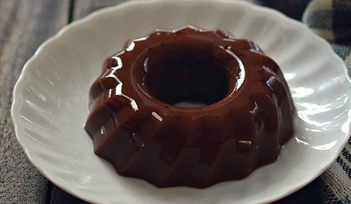 Puding Coklat Santan Tanpa DCC
