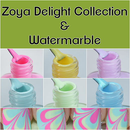 Zoya Delight Collection swatches