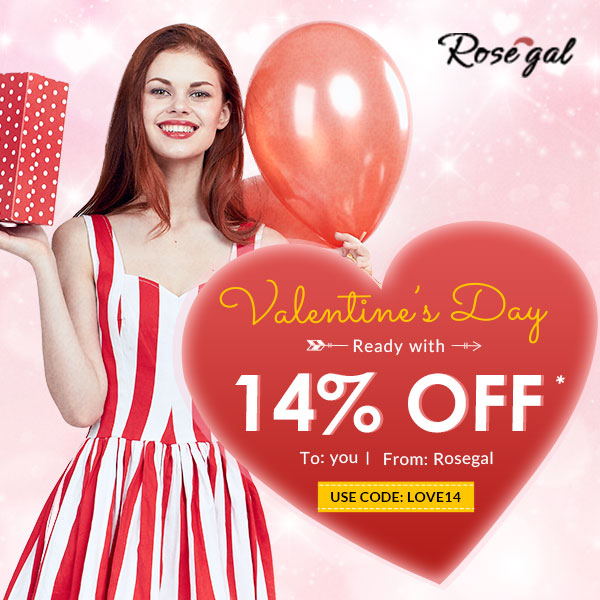 Valentine's Day Rosegal