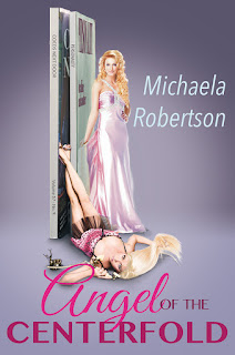 Book cover: Angel of the Centerfold by Michaela Robertson
