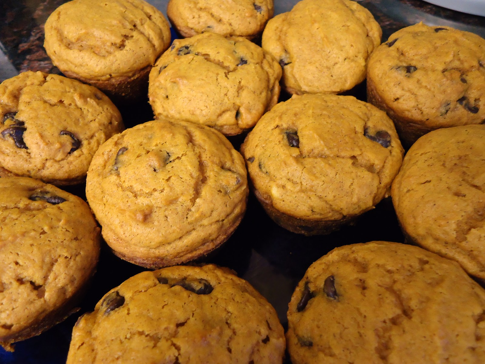 Egg Allergy Cooking: Pumpkin Chocolate Chip Muffins {Egg-free, Dairy ...