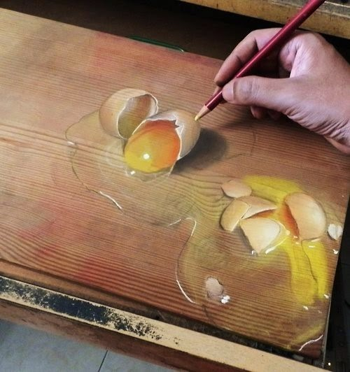 Ivan Hoo Art, dibujo anamórfico