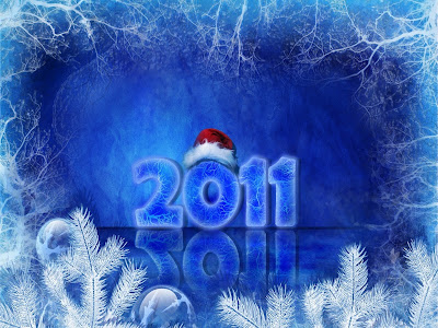 Christmas 2011 New Year Wallpaper