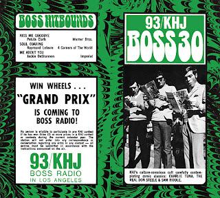 KHJ Boss 30 No. 135 - Charlie Tuna, The Real Don Steele, Sam Riddle