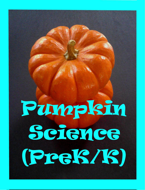 Pumpkin Science Experiment For Preschoolers Kindergarten