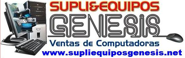 SUPLIE EQUIPOS GENESIS