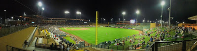 scottsdale stadium, spring training baseball