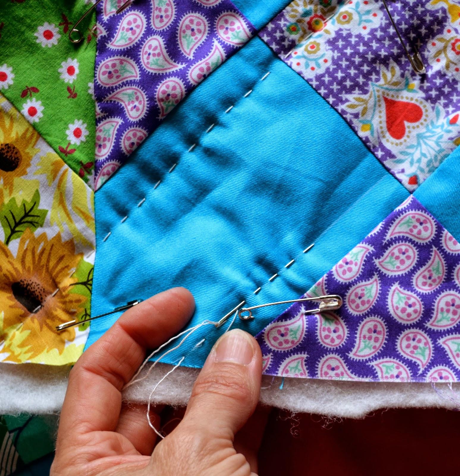 Pennylane Patchwork Big Stitch Hand Quilting