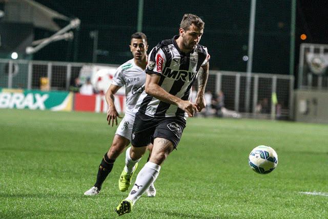 Lucas Pratto criou poucas chances de ataque para o Galo (Foto: Bruno Cantini/Atlético MG)