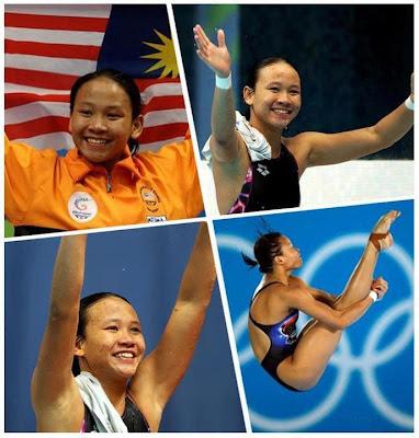 Pandalela Rinong Raih Gangsa  Olimpik 2012