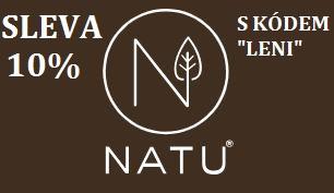 NATU.cz S kódem LENI 10% sleva!