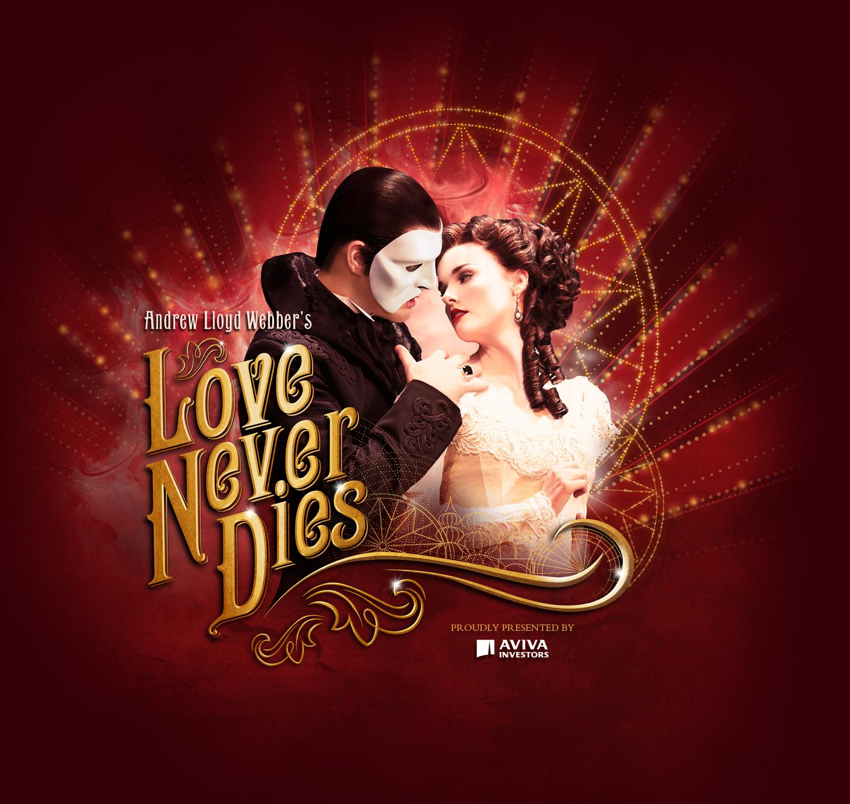 Love Never Dies Phantom Wallpaper Take it Love Never Dies