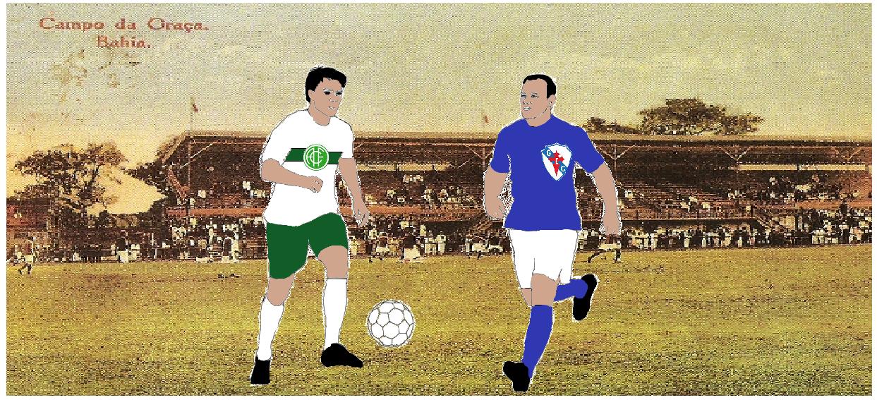 MEMÓRIAS ESMERALDINAS: América 2x1 Galícia da Bahia em março de 1945