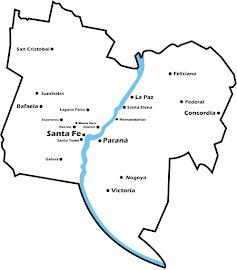 Mapa de la Misión