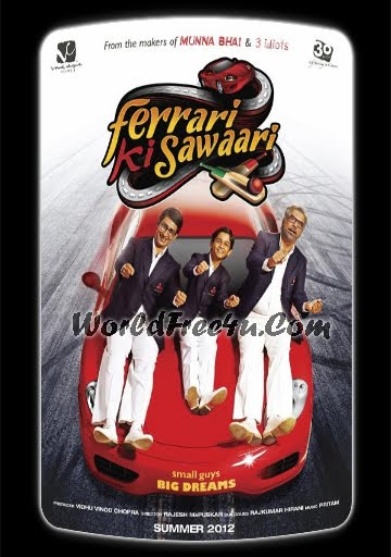 Poster Of Hindi Movie Ferrari Ki Sawaari (2012) Free Download Full New Hindi Movie Watch Online At worldfree4u.com