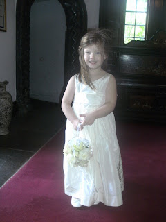 cute flowergirl at adare manor