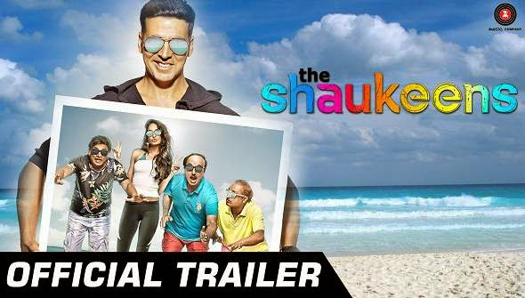 The Shaukeens 2014 Hindi Movie Poster