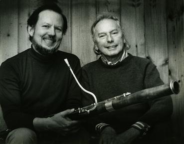 Robert Thompson and Andrzej Panufnik