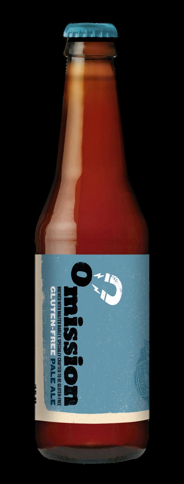 bottle Omission Beer Widmer gluten reduced removed free low pale ale bier celiac test result level Portland test result craft micro brew