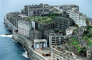 http://en.wikipedia.org/wiki/Hashima_Island