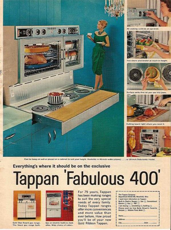 La estufa que vino con su propia tabla de cortar