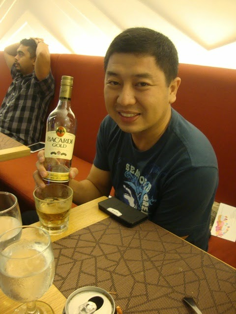 F1 HOTEL MANILA, BACARDI, THE CHINESE ADONIS, F CAFE