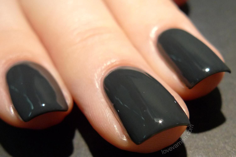Black Dahlia Lacquer Black Iris