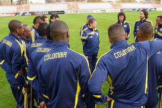 Colombia cancela los partidos amistosos