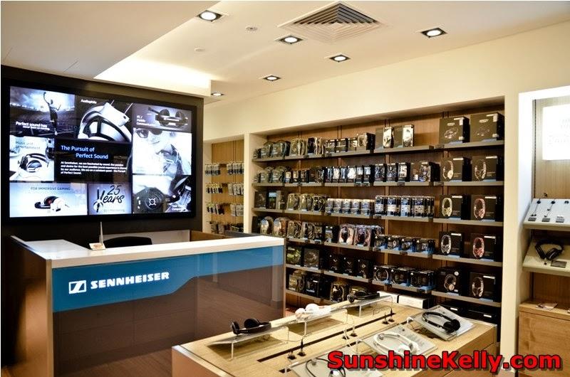 Sennheiser MOMENTUM Series, Sennheiser New Concept Store Kuala Lumpur, bangsar shopping complex, sound style, H&M Spring Collection 2014
