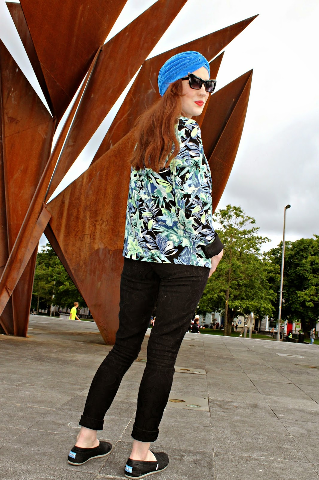 Bec Boop Eyre Square outfit