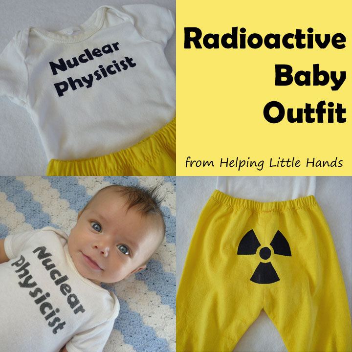Nuclear Physicist - Radioactive Baby Nerdy Outfit  sc 1 st  Pieces By Polly & Pieces by Polly: Nuclear Physicist - Radioactive Baby Nerdy Outfit