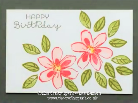 Garden in Bloom Thank You Card
