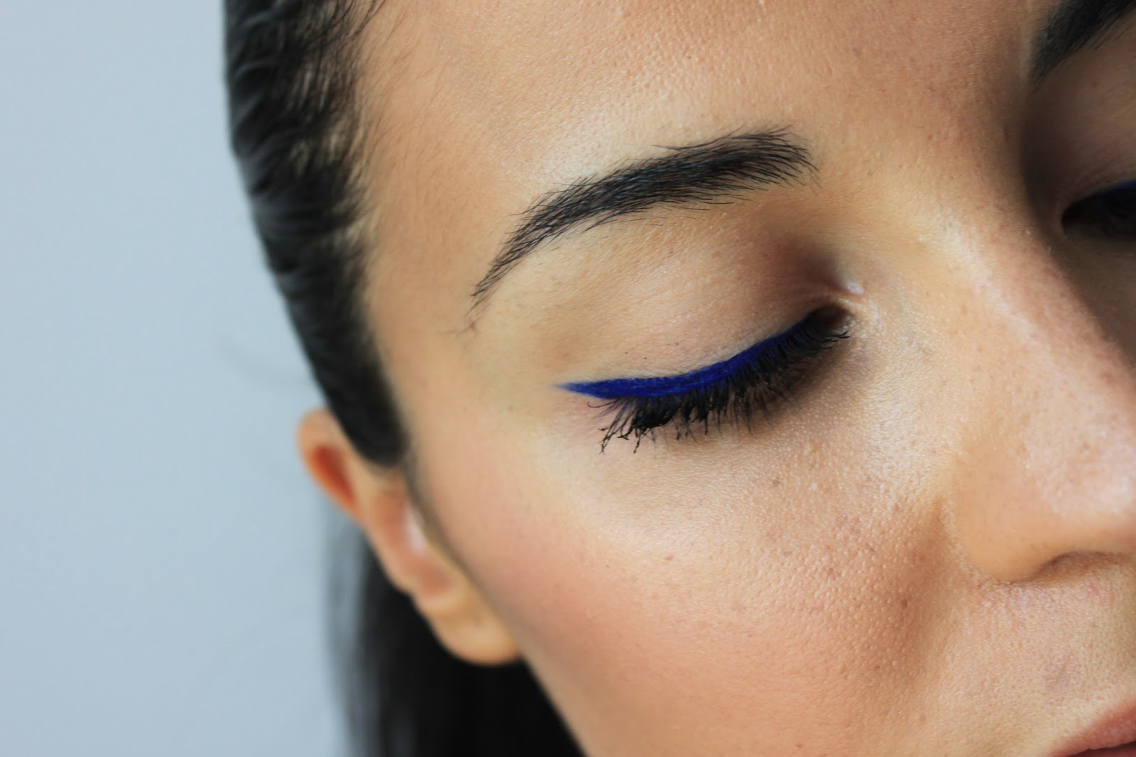 Blue Mood Look