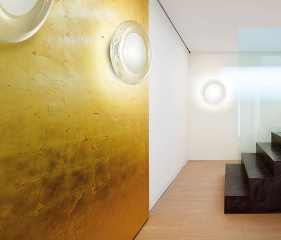Modern Large Round 2ft Murano Glass Ceiling/Wall Lamp Light Sconces ...