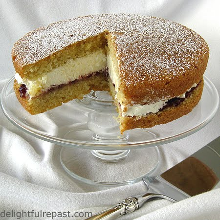 Victoria Sponge - An English Teatime Classic